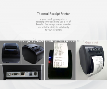 ZyWELL Thermal Receipt Printer 80mm