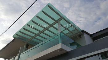 Glass Skylight at Tmn Sungai Rambai, Melaka