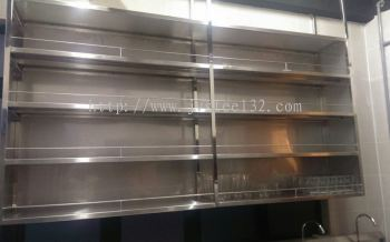 Stainless Steel��s Mug Rack, Imperial Heritage Hotel��s Cafe