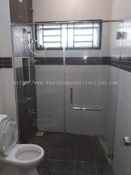 Interior Design/ Renovation Works - Shower Screen