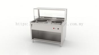 Two Pot Display Bain Marie