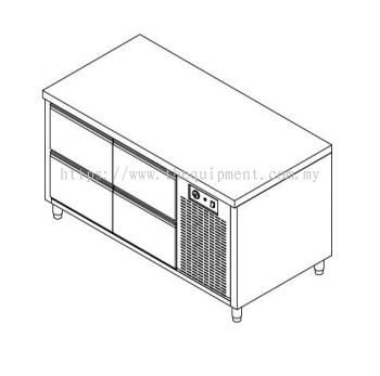Drawer Counter Chiller/Freezer