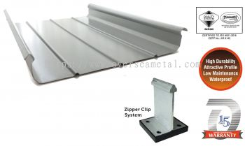 TwinZip®65 Structural Standing Seam Roof Panel