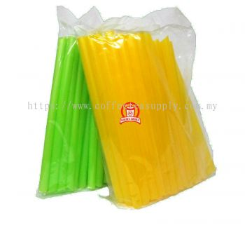 GIANT STRAW SHARP (M.COLOR)