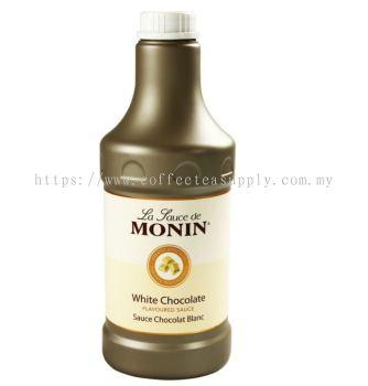 MONIN WHITE CHOCOLATE SAUCE 1.89L