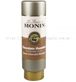 MONIN CHOCOLATE HAZELNUT SAUCE 500ml
