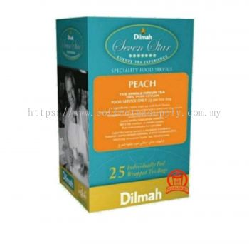 DILMAH PEACH TEA 50G/2G*25TB