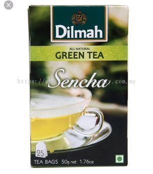 DILMAH GREEN TEA SENCHA 50G/2G*25TB