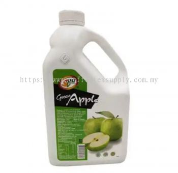 GREEN APPLE CONCENTRATE SYRUP 2.5KG