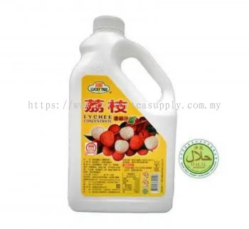 LYCHEE CONCENTRATE SYRUP 2.5KG