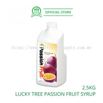 PASSION FRUIT CONC.SYRUP LUCKY TREE