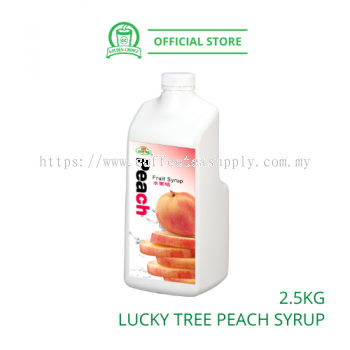 PEACH CONC.SYRUP LUCKY TREE