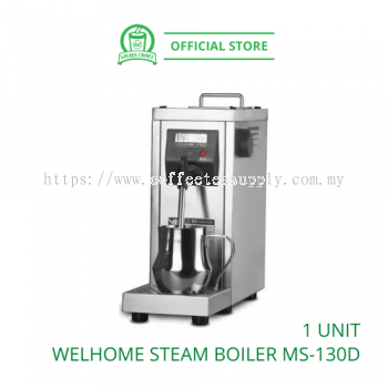 WELHOME WPM STEAM BOILER MS-130D ������ - Milk Frother | Stainless steel | Manual