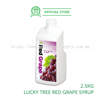 RED GRAPE Concentrate Syrup 2.5kg LUCKY TREE ���������ѹ�֭ - Taiwan Import | Fruit Tea | Fruit Juice