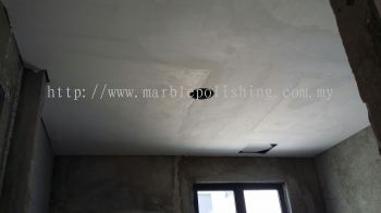 plaster ciling.