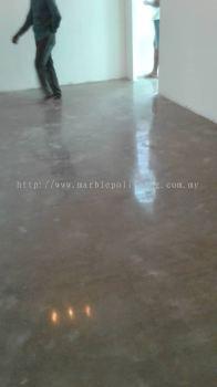 cement floor polish