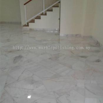 repolish broken marble.