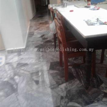 repolish broken marble