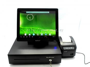 15'' Touch Screen Monitor Set