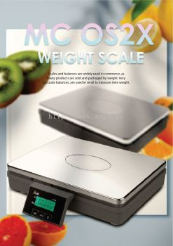MC OS2X WEIGHT SCALE