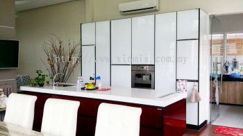 Aluminium kitchen cabinet - Serdang