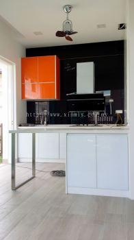 Aluminium kitchen cabinet - Setia Alam