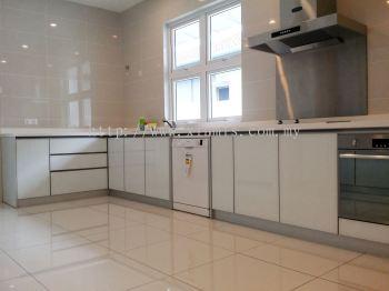 Aluminium kitchen cabinet - Sungai Buloh