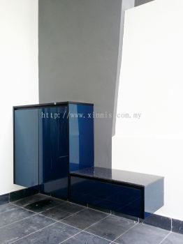 Aluminium shoe cabinet - Bukit Mertajam