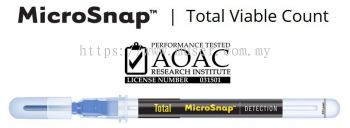 Hygiena Indicator Organism Tests �C MicroSnap™ Total Viable Count