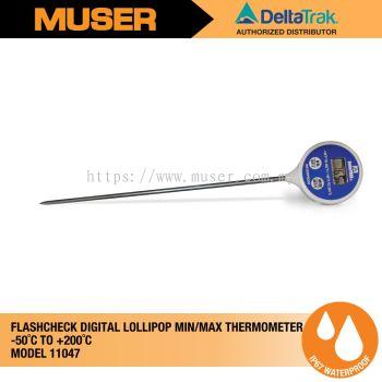 DeltaTrak 11047 | FlashCheck Digital Lollipop Min/Max Thermometer [Delivery: 3-5 days]