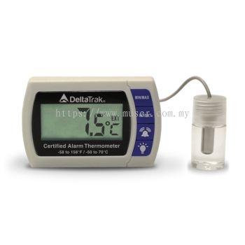 DeltaTrak 12215 | FlashLink Certified Alarm Thermometer [Delivery: 3-5 days]