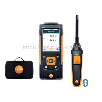 testo 440 | Humidity Kit with Bluetooth®