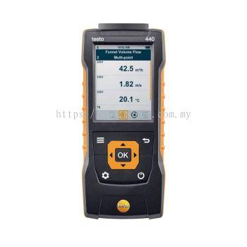 testo 440 | Air Velocity and IAQ Measuring Instrument