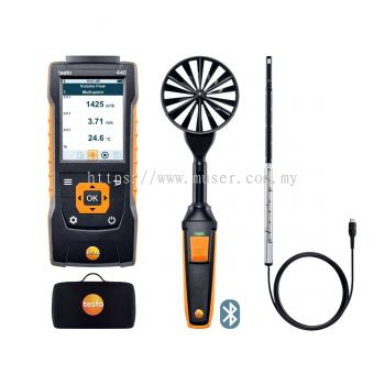 testo 440 | ComboKit 1 Air Flow with Bluetooth®