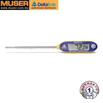 DeltaTrak 11061 | FlashCheck® Auto-Cal Waterproof Industrial Digital Probe Thermometer