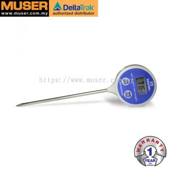 DeltaTrak 11049 | FlashCheck® Certified Waterproof Digital Lollipop, Min/Max ProbeThermometer