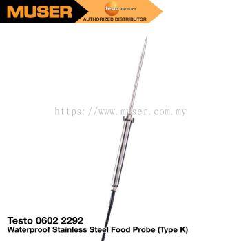 Testo Waterproof Stainless Steel Food Probe (TC type K)