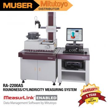 Mitutoyo RA-2200AS Roundness/Cylindricity Measuring System