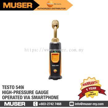 testo 549i - High-pressure gauge operated via smartphone