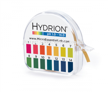 Hydrion S/R Dispenser 1.0-14.0 (per piece) [Delivery: 1-3 working days]