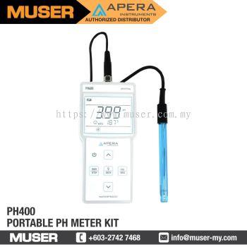 PH400 Portable pH Meter Kit