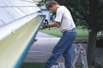 Rain Gutter & Roof Gutter Leakage Repair Service