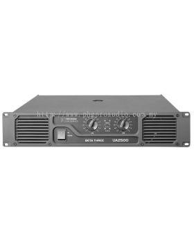 Beta Three U2500 2 x 1250W 8�� Power Amplifier