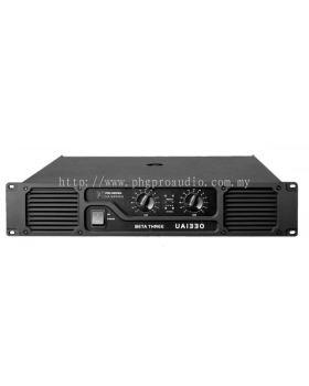 Beta Three UA1330 2 x 660W 8�� Power Amplifier