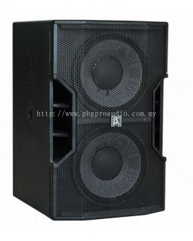 Beta Three T212Ba 1400W (RMS) Dual 12�� LF Active Wooden Speaker