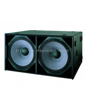 "Beta Three TLB218 Line Array Series Dual 18"" LF Speaker"