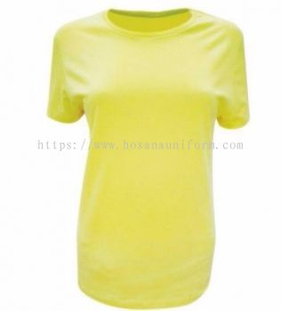 Ladies Tubular Round Neck 160GSM Colour