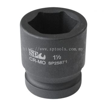 "SP TOOLS 1-1/2""DR IMPACT SOCKETS - 6PT SAE - INDIVIDUAL SP26671"