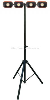 SP TOOLS FLOOD LIGHT KIT - MINI COB LED & TRIPOD - 5PC SP81489