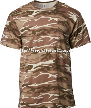 ANVIL ADULT MIDWEIGHT CAMOUFLAGE